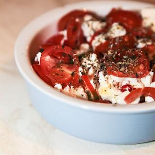 Bouyiourdi – Greek Feta Baked in the Oven.