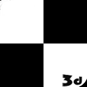 white tile 3D