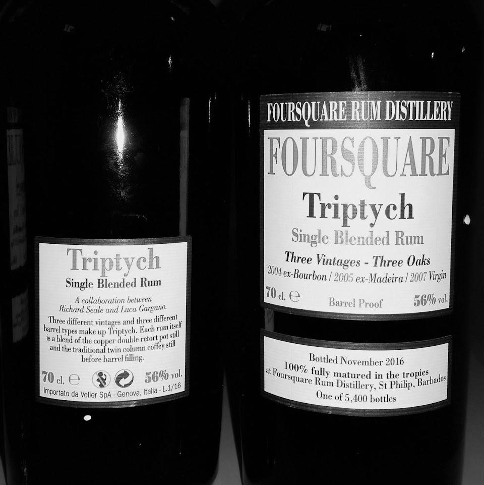 Foursquare triptych