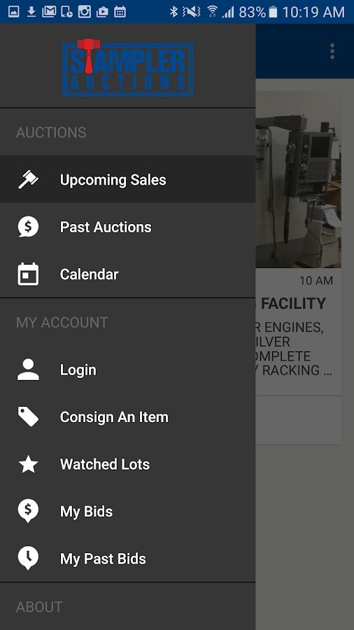 Stampler Auctions- screenshot