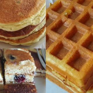 Fluffy Keto Pancake/Waffle