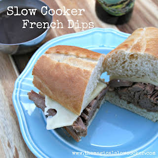 Slow Cooker French Dips.