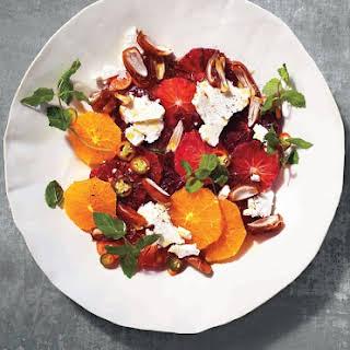 Orange Salad with Dates, Mint & Chiles.