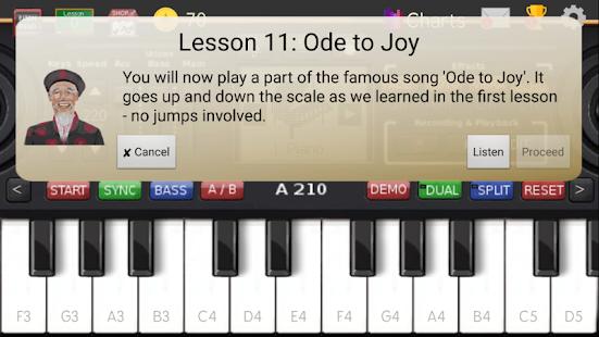 Music Keyboard Pro - náhled