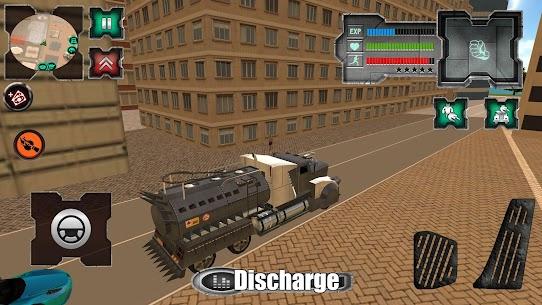 Flying Dragon Robot Simulator :Transformation War 2