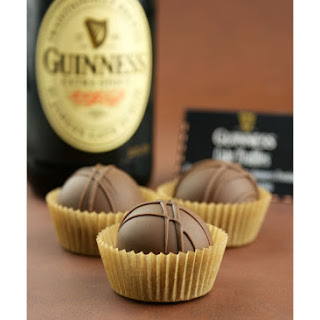 Chocolate Stout {Guinness} Cake Truffles.