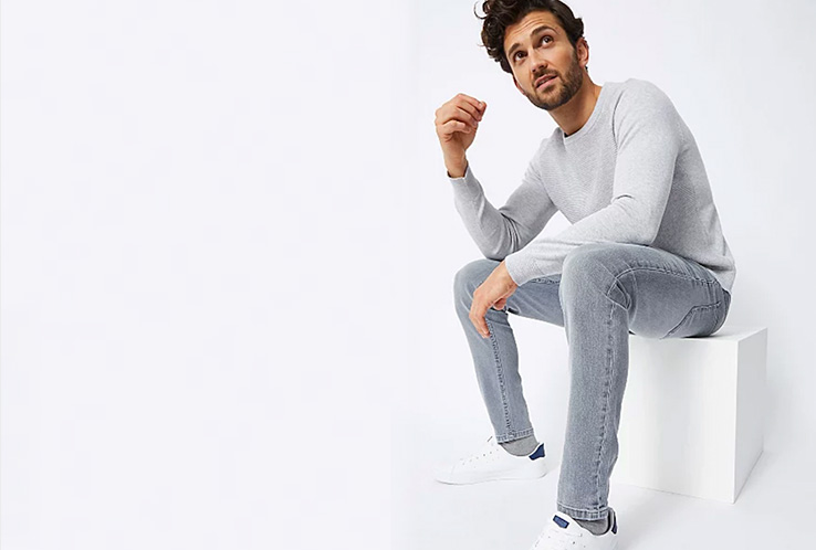 Discover our wide range of men's jeans