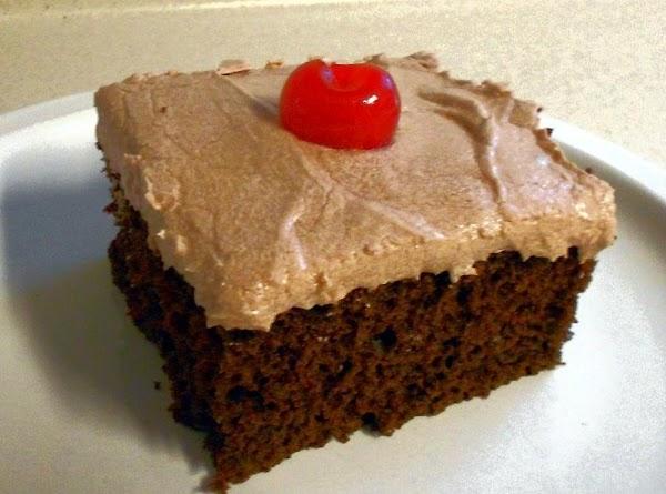 Cherry Cola Chocolate Cake Recipe