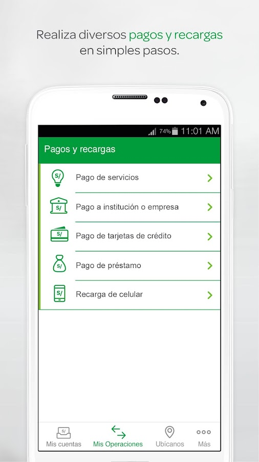 Interbank APP- screenshot