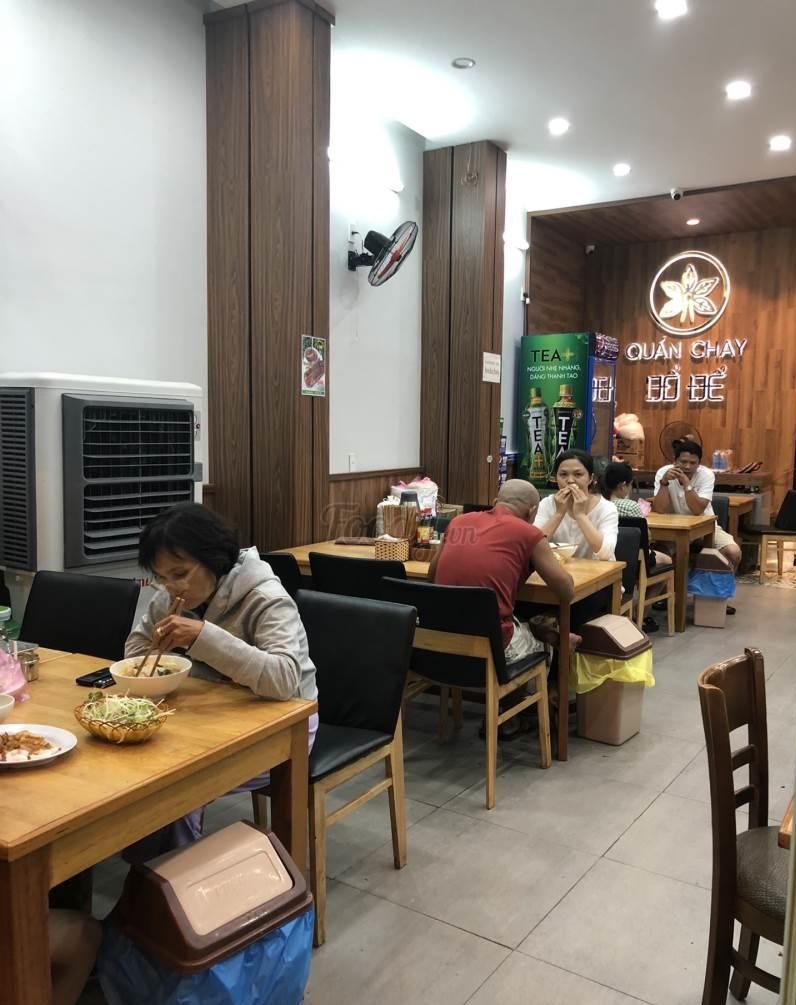 Quán chay Đà Nẵng Bồ Đề Tâm có không gian quán khá sang trọng