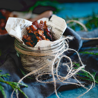 Candied Bacon Nut Brittle
