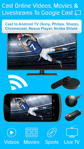 Video & TV Cast | Google Cast: Android TV Streamer 2.17 screenshots 1