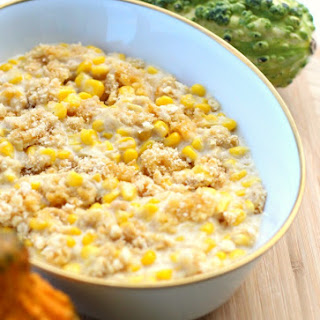Make Ahead Crockpot Corn Casserole