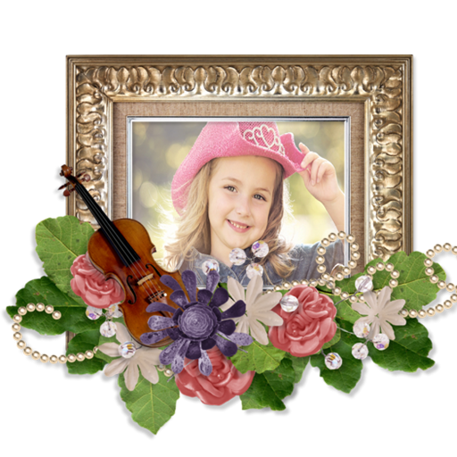 Add your picture on frame