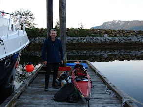 Photo: Getting ready to launch from Hartley Bay.