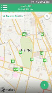 BusMapHN - Hanoi bus map - náhled
