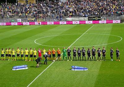 Virton eens te meer lachende derde na bizarre slotfase in Sporting Lokeren - Union SG