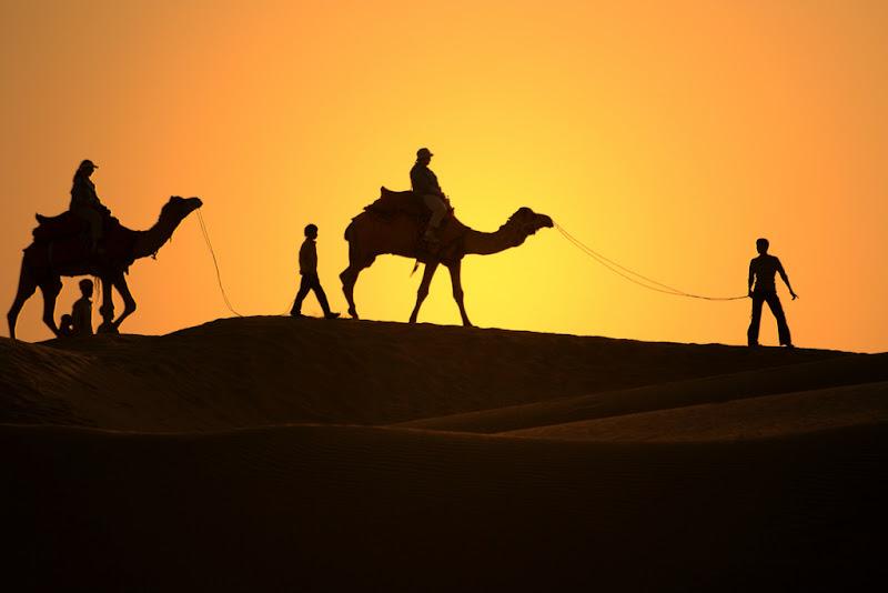 passaggio nel deserto del thar di antonioromei