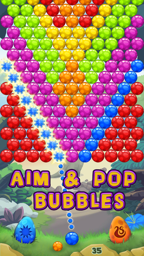 Dino Bubble Pop- screenshot