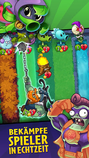 Plants vs. Zombies™ Heroes  Frei Ressourcen 1