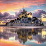 Le Magnifique Mont Saint-Michel (1000 pc)