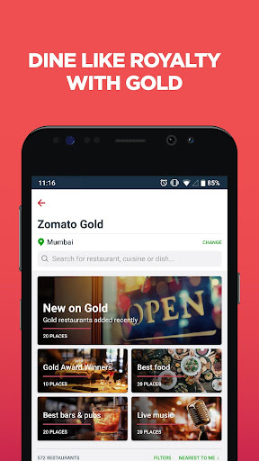 Zomato - Restaurant Finder and Food Delivery App 12.2.9 screenshots 6