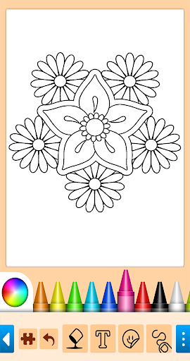Coloring game for girls and women 14.6.2 Screenshots 1