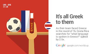 Photo: Greece makes ticos curious. #CRC #GoogleTrends