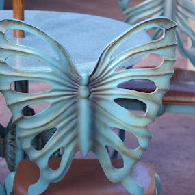 Butterfly Chair by Keith Heinly - Artistic Objects Furniture ( chair, butterfly, animal kingdom, florida, disney )