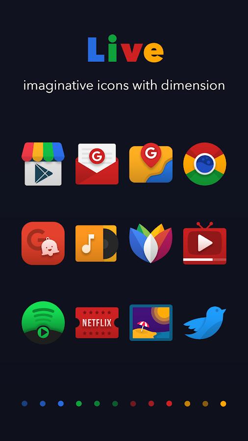 Live Icon Pack- tangkapan layar