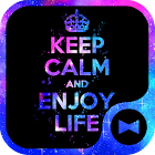 Keep Calm and Enjoy Life Theme icon