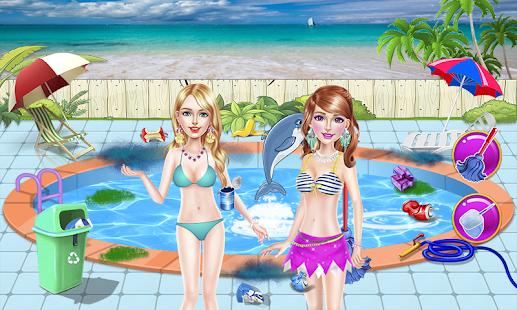 Tải Game Trò chơi thời trang biển cô gá