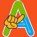 ABC kids writing alphabet - Trace handwriting app icon