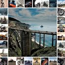 Motorcycle Collage - Instagram Carousel Ad item