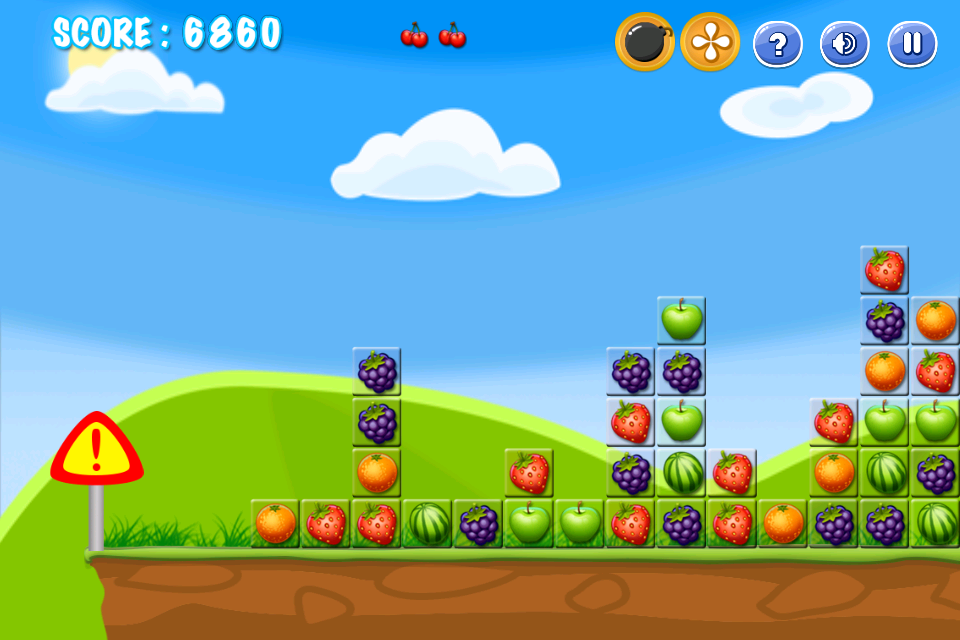 Fruit Link Crush Mania- screenshot