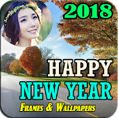 NewYear Greetings Card & Photo Frames 2018