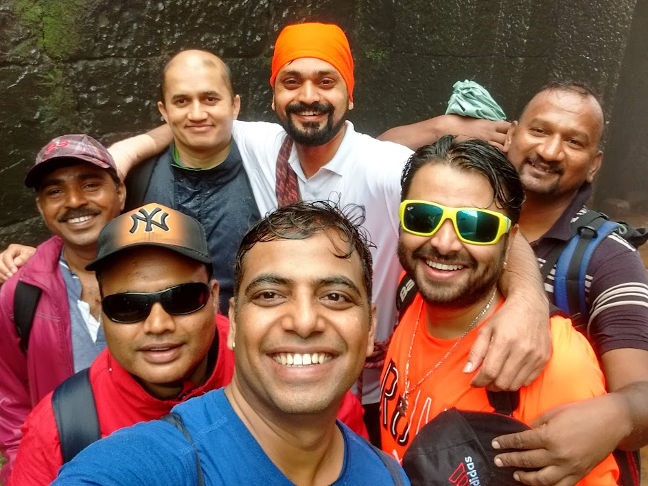 Friends at camp nisargshala
