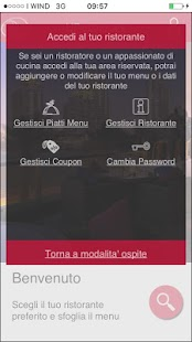 URestaurant - náhled