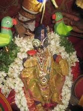 Photo: Day 2 - Nachiyar tirukkolam - pallakku - Kili vaibhavam explained. two parrots explain the happenings at various lokas to thayar
