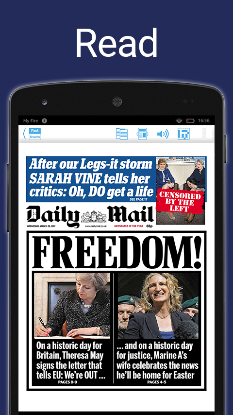 Daily Mail Plus- screenshot