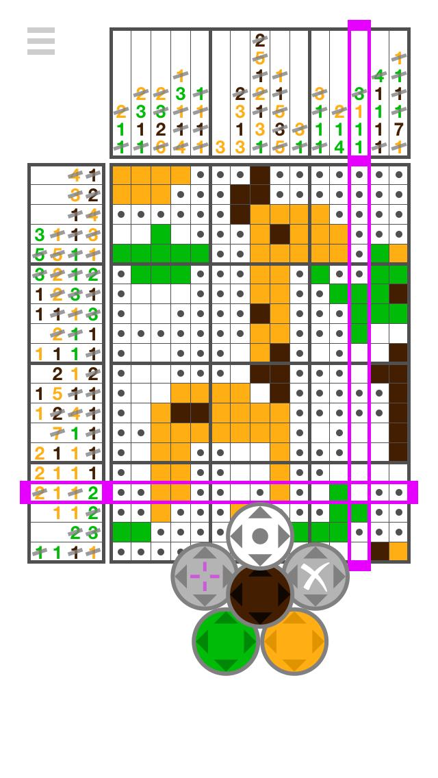Let's IQ Nonogram screenshot #1