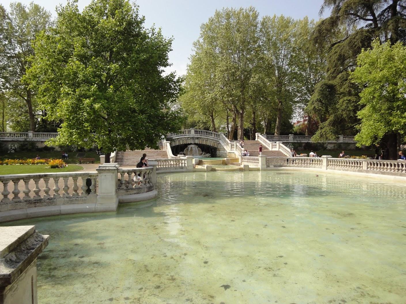 Parc de Darcy à Dijon