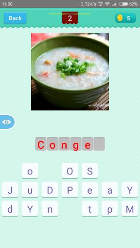 Chinese Food Quiz