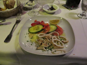Photo: Grilled squid at Porto Mar
