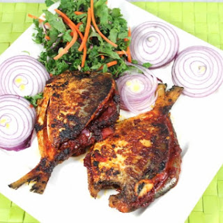 Reachado Stuffed Pomfret Fish