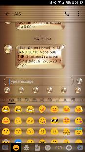 Gold Copper SMS Zprávy - náhled