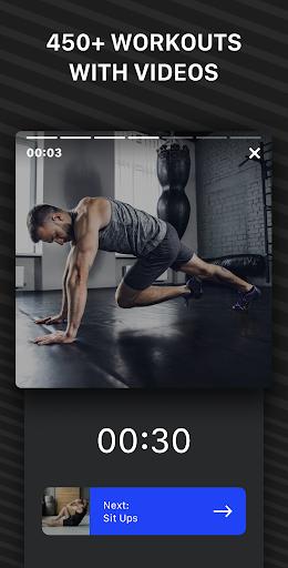 Muscle Booster Workout Planner  screenshots 4
