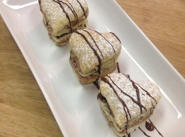 Helene's Nutella Napoleons Recipe