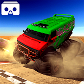 VR Monster Truck Racing 3D