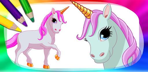 Unicorns And Ponies To Paint Aplicații Pe Google Play
